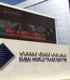 Thank you for visiting us at Middle East Electricity 2018 in Dubaï - CRE Technology